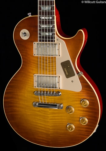 Gibson Custom Shop 1958 Les Paul Figured Top VOS Sunrise Tea Burst (462) Custom Shop 1958 Les Paul