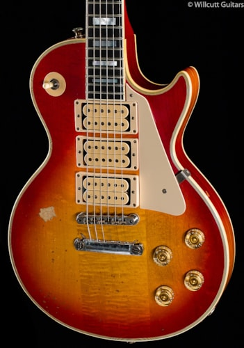 Gibson Custom Shop Ace Frehley Budokan 1974 Aged Les Paul Custom (083) Custom Shop Ace Frehley Budokan 1974 Aged Les Paul Custom