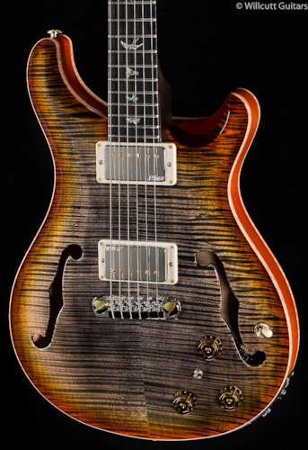PRS Hollowbody II Artist Package Burnt Leaf Maple (947) Hollowbody II Artist Package