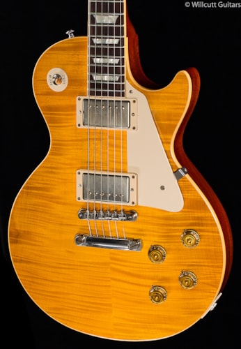 Gibson Custom Shop 1959 Les Paul Standard VOS Faded Amber Burst *Willcutt Ltd (229) Custom Shop 1959 Les Paul Standard Reissue