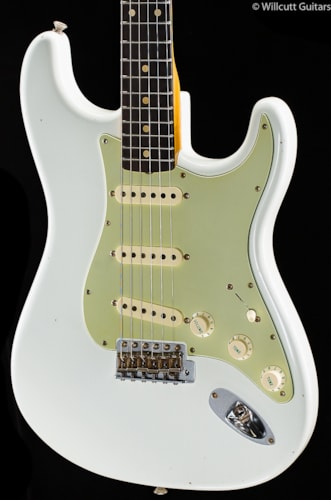 Fender® Custom Shop Willcutt True '62 Stratocaster® Olympic White (124) Custom Shop Willcutt True '62 Stratocaster®