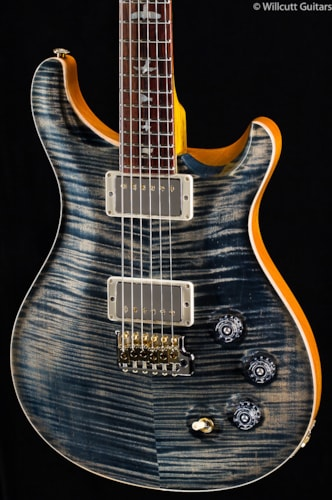 PRS Wood Library DGT Faded Whale Blue 10 Top (778) Wood Library DGT