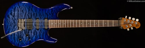Ernie Ball Music Man BFR Luke III HSS Blueberry Quilt (937) BFR Luke III HSS