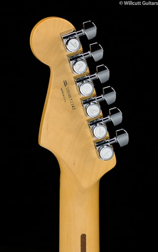 Fender® American Deluxe Strat® HSS Sunset Metallic, Maple (342) American Deluxe Strat® HSS Sunset