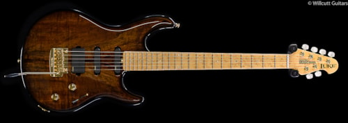 Ernie Ball Music Man Premier Dealer BFR Luke Vintage Tobacco, Koa (644) Premier Dealer BFR Luke