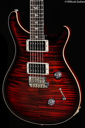 PRS Custom 24 Fire Red Burst Ten Top (839) Custom 24