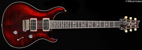PRS Custom 24 30th Anniversary Fire Red Burst Ten Top (821) Custom 24