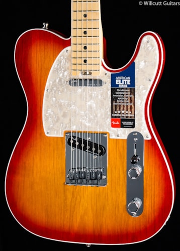 Fender® American Elite Telecaster® Aged Cherry Burst Maple (297) American Elite Telecaster®
