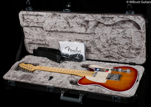 Fender® American Elite Telecaster® Aged Cherry Burst Maple (286) American Elite Telecaster®