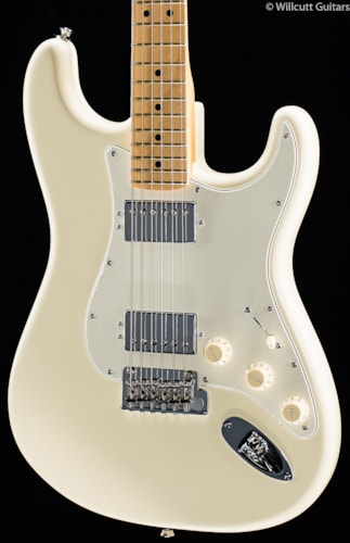 Fender® American Standard Stratocaster® HH Olympic White (959) American Standard Stratocaster®