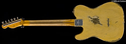 Fender® Custom Shop 1951 Telecaster® Heavy Relic® Faded Nocaster Blonde (464) Custom Shop 1951 Telecaster® Heavy Relic®