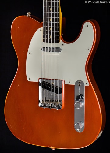 Fender® Custom Shop 1959 Journeyman Relic® Telecaster® Faded Candy Tangerine (502) Custom Shop 1959 Journeyman Relic® Telecaster®