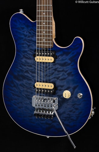 Ernie Ball Music Man BFR Axis Quilted Blueberry Burst (417) BFR Axis
