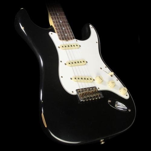 Fender® Custom Shop Used 2016 Fender® Custom Shop '70 Stratocaster® Relic® Electric Guitar Black