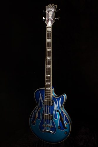 2015 D'Angelico Art Deco Bass
