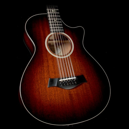 Taylor 562ce 12-Fret Grand Concert 12-String Acoustic-Electric Guitar Shaded Edgeburst