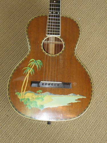 ~1926 Concertone (Regal) Palm Decal