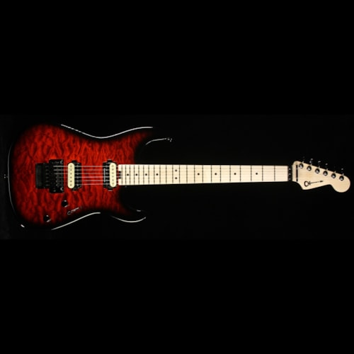 Charvel Used Charvel Pro Mod Series San Dimas 2H FR Electric Guitar Trans Red Burst