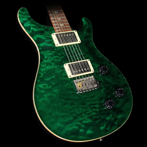 Paul Reed Smith Used 2003 Paul Reed Smith Custom 22 Quilt 10 Top Electric Guitar Emerald Green