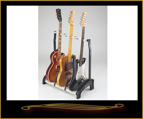 K&M 17513 Guardian Three Guitar Stand