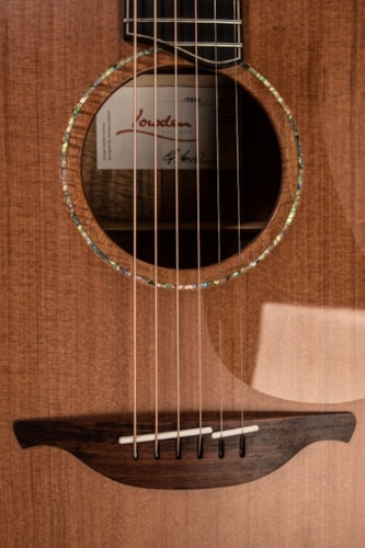 2016 Lowden F50 Custom Koa with Abalone Binding