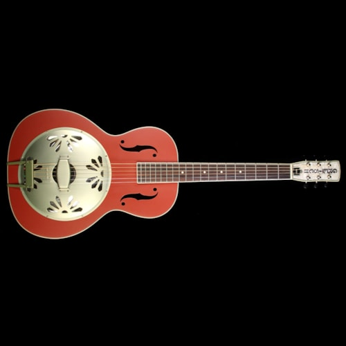 Gretsch G9241 Alligator Resonator Acoustic-Electric Guitar Chieftan Red