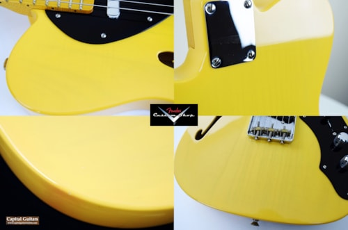 2008 Fender® Custom Shop 50's Thinline Telecaster® NOS