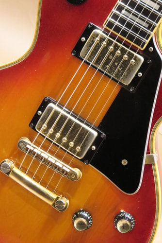 1975 Gibson Les Paul Custom/Cherry Sunburst