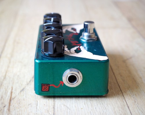 2012 ZVex Effects Fuzz Factory 1 of 1 Hand Painted Boutique Fuzz Guitar Effect