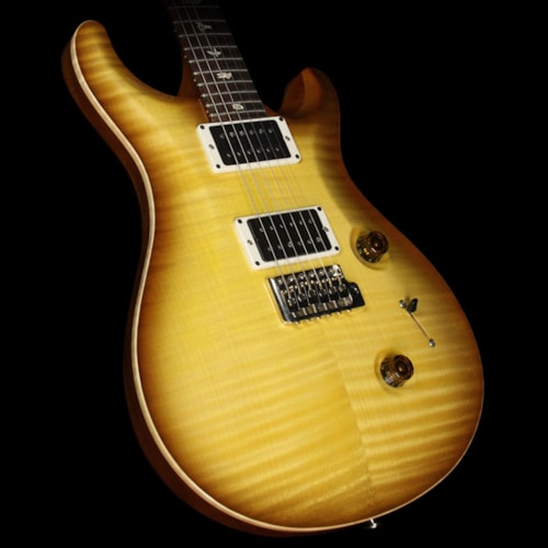 Paul Reed Smith Used 2013 Paul Reed Smith Custom 24 10 Top Electric Guitar Livingston Lemon Drop