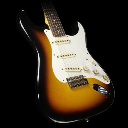 Fender® Custom Shop Used 2015 Fender® Custom Shop '50s Stratocaster® Relic® Electric Guitar 2-Tone Sunburst