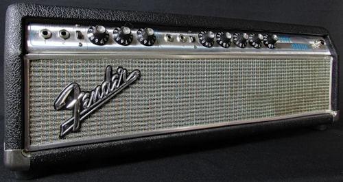 1968 Fender Band Master Head Modded