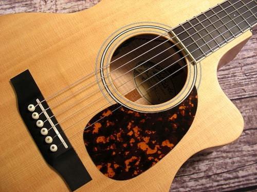 2015 Larrivee Custom Shop OMV-03 Thinline Cutaway Acoustic Electr