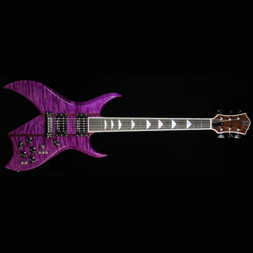 BC Rich Used B.C. Rich Custom Shop 2015 NAMM Display Bich Electric Guitar Purple