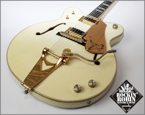 1976 Gretsch White Falcon 7594 Mono