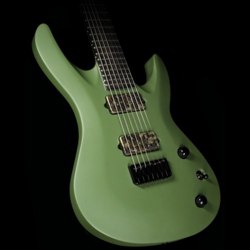 Jackson Custom Shop B7 Deluxe 7-String Baritone Electric Guitar Matte Army Drab
