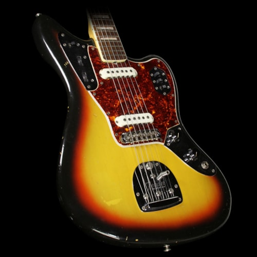 Fender® Used 1966 Fender® Jaguar® Electric Guitar Sunburst