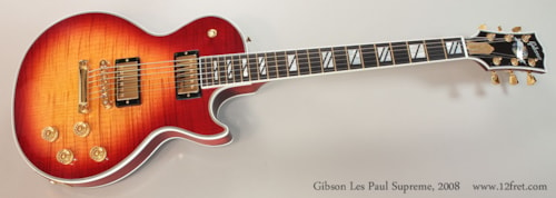2008 Gibson Les Paul Supreme