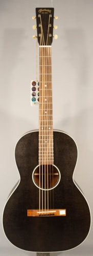 """2016 Martin Guitars  NEW! Martin 00-17s Acoustic Guitar With Case """"Black Smoke"""""""