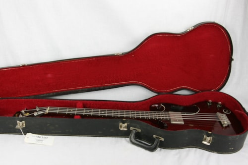1963 Gibson EB-0 Bass, Cherry Red