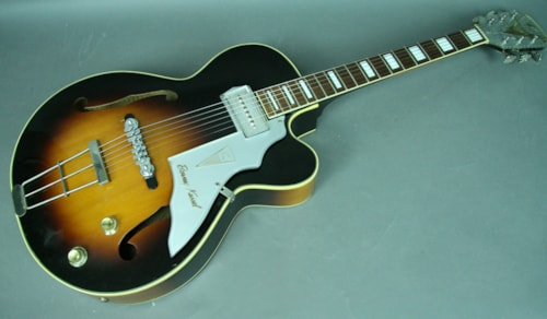 "1957 Kay Barney Kessel ""Artist"" Model K6701 Sunburst Hollowbody Elect"