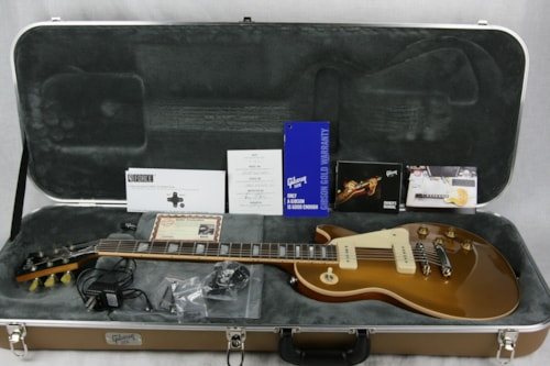 2015 Gibson Les Paul Less Plus Goldtop w/ P90 Pickups! Limited Edition