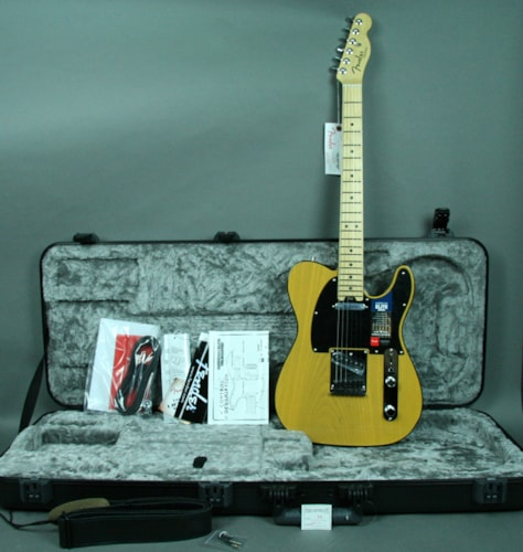 2016 Fender® American Telecaster® Elite Electric Guitar Butterscotch Blond