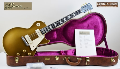 2013 Gil Yaron '54 LP Gold Top Replica Brazilian 7.8 lbs!