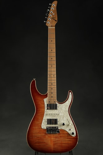 Tom Anderson Guardian Angel - Natural Orange to Dark Orange Burst