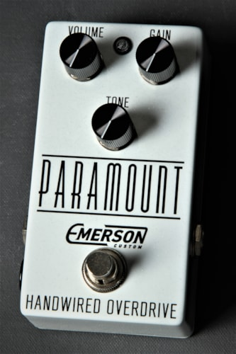 Emerson Custom Paramount White Sparkle