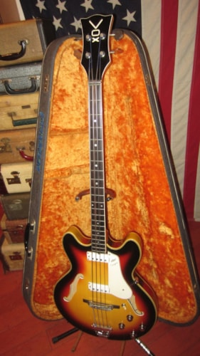 ~1965 Vox Cougar Hollowbody Bass