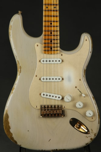 Fender® Custom Shop 1954 Stratocaster® Heavy Relic® - Dirty White Blon