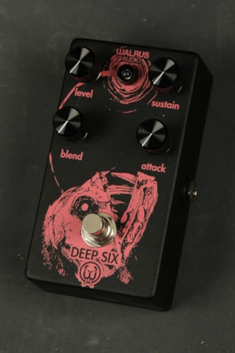 Walrus Audio Deep Six Compressor - Angler Fish Graphic - Salmon