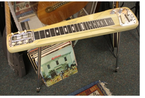 ~1957 WHITE Fender®  Lap Steel